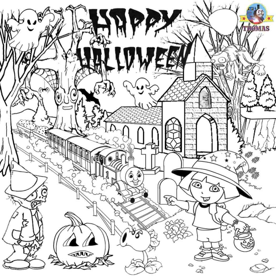 Halloween Hidden Word Coloring Page Halloween Activities