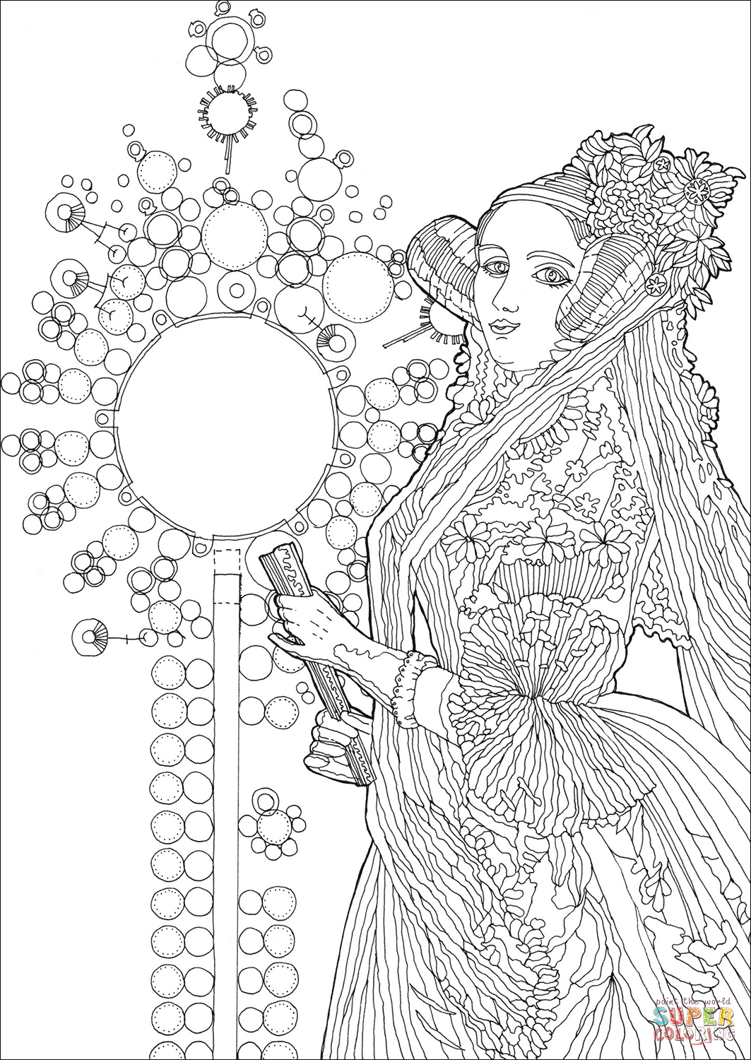 Florence Nightingale Colouring Pages