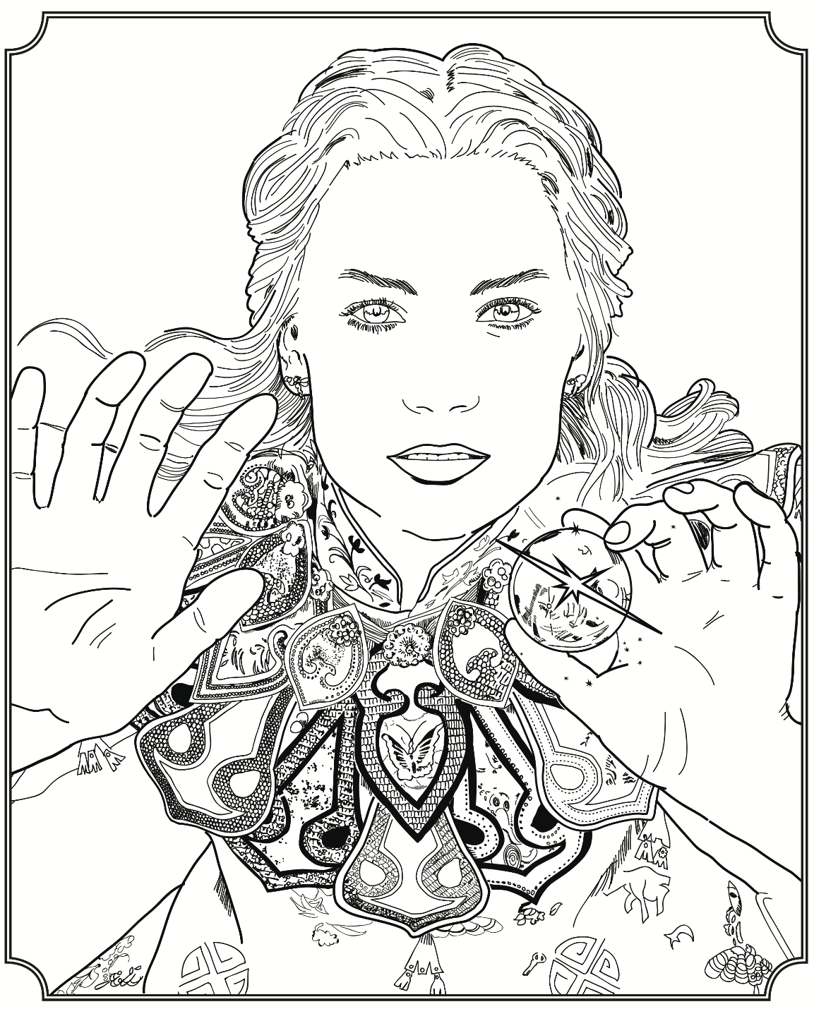 Adult Alice In Wonderland Coloring Pages