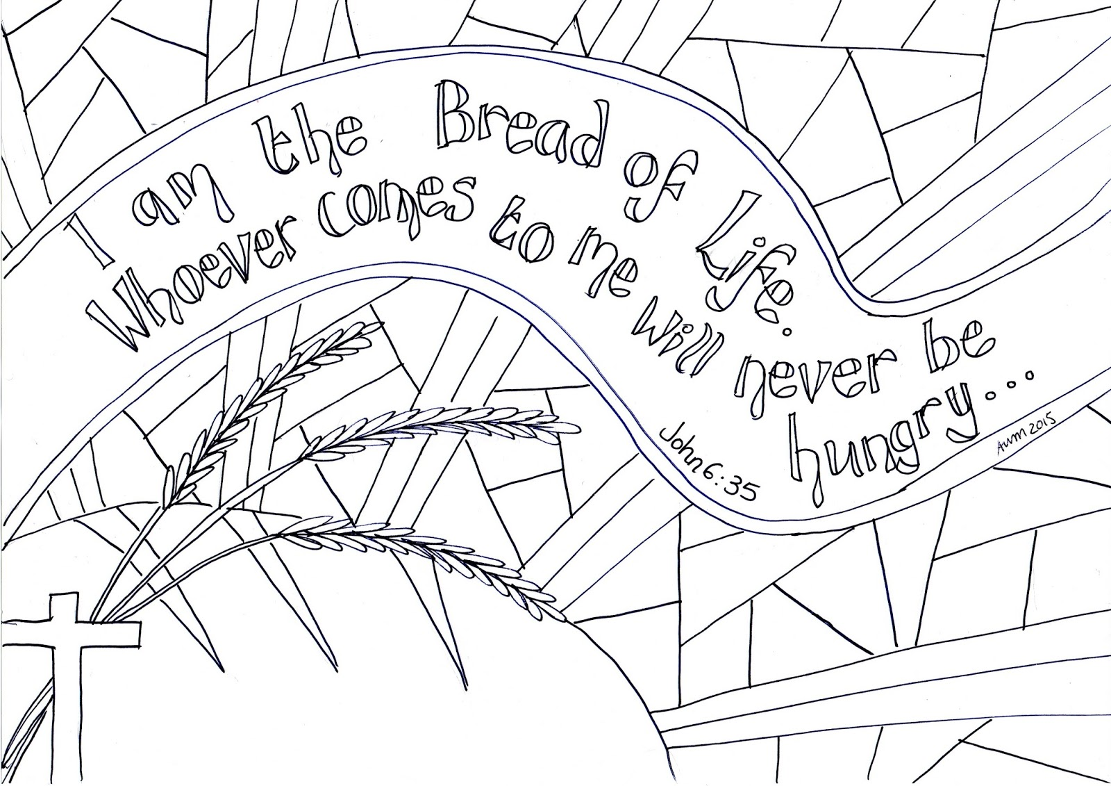 Harvest Colouring Pages Sunday School