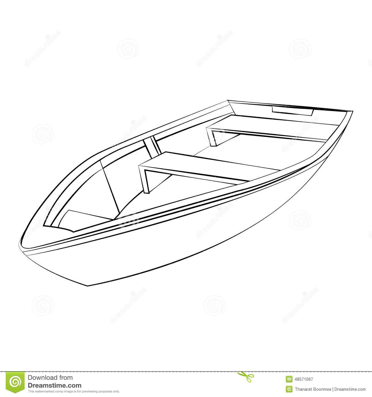 Boat Stock Vector Illustration Of Sailing Mast Sailboat