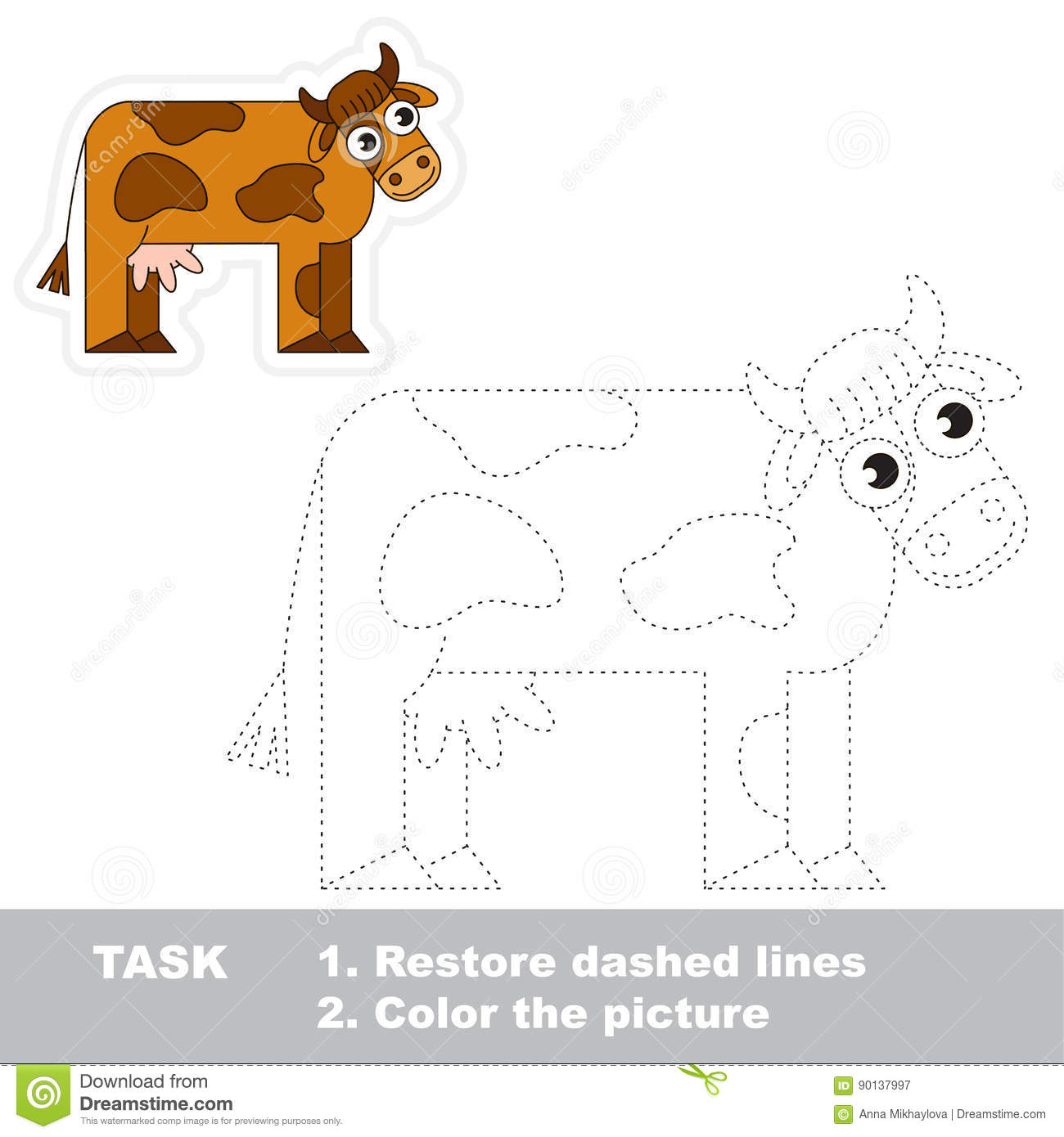 Tracing Animals Worksheets