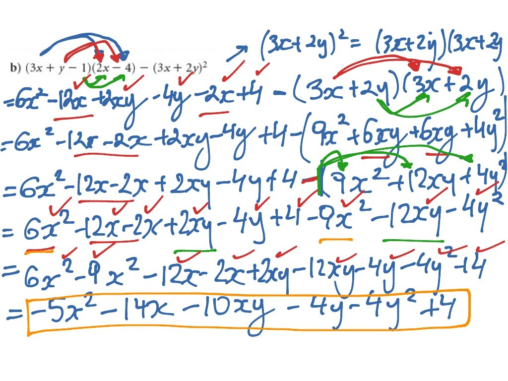Multiplying Polynomials Coloring Activity Aliens Answers