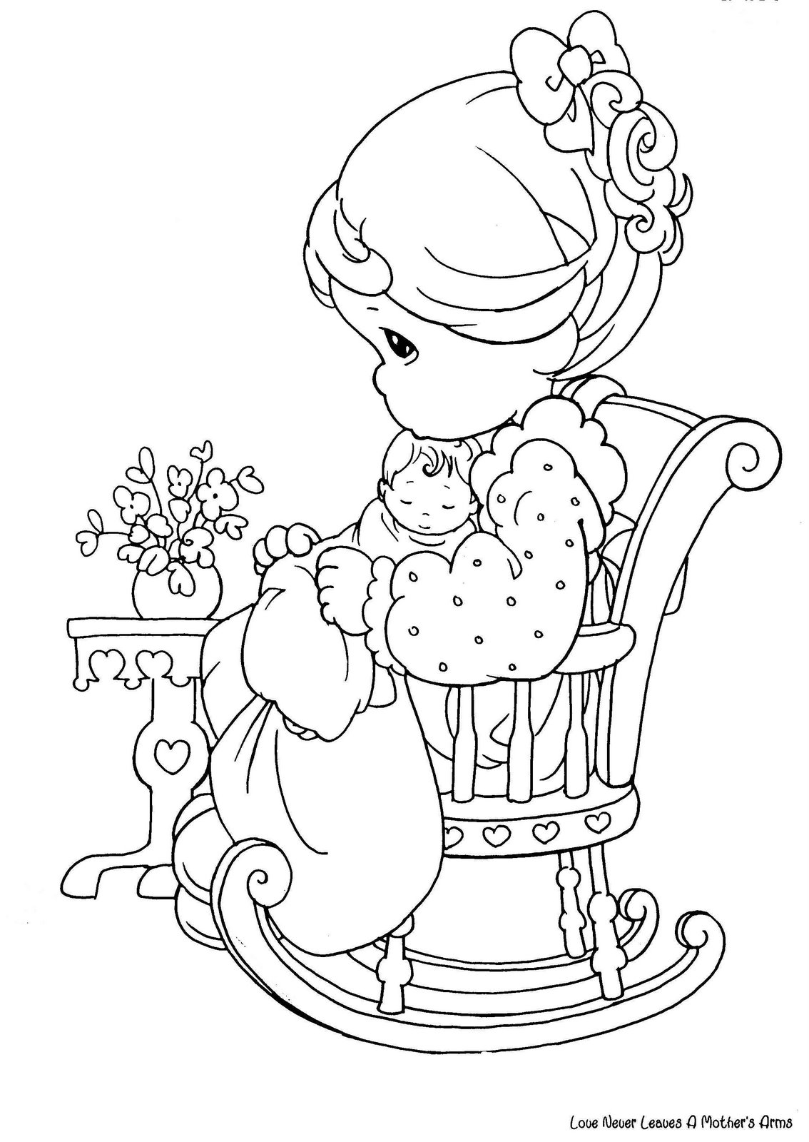 A Chair For My Mother Coloring Pages