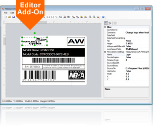 Empower your .NET apps with the ThermalLabel Visual Editor Add-on!