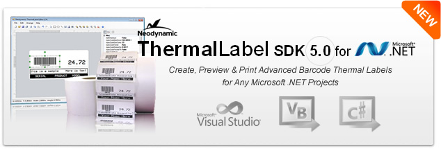 ThermalLabel SDK 5.0 and Visual ThermalLabel Editor Add-on
