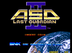 Alpha Mission II / ASO II : Last Guardian