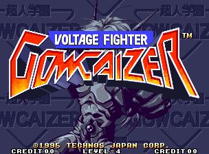 Voltage Fighter Gowcaizer / Chojin Gakuen Gowcaizer