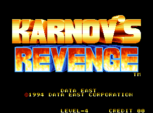 Karnov's Revenge / Fighters History Dynamite