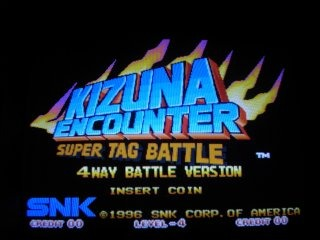 Kizuna Encounter: Super Tag Battle 4 Way Battle Version / Fu'un Super Tag Battle Special Version