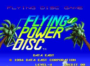 Windjammers / Flying Power Disk