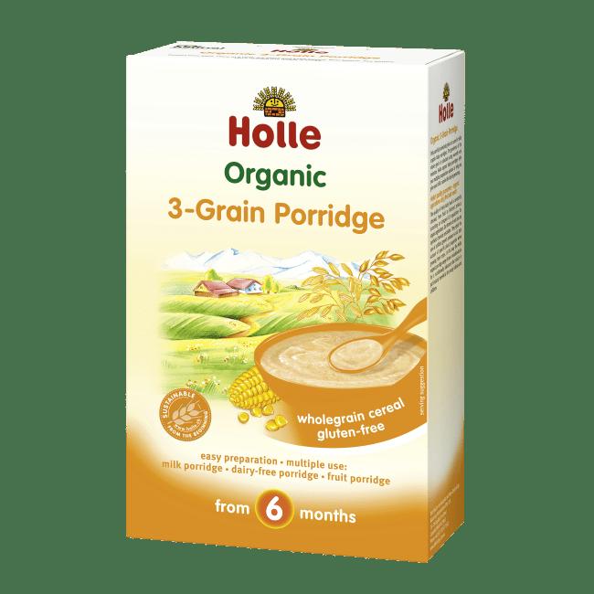 HOLLE3-Grain Porridge3 x 250g