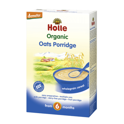 Holle Organic Oats Porridge wholegrain cereal from 6 months