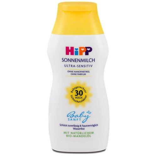 Hipp Baby Sun Milk Cream Ultra-Sensitive Hp30