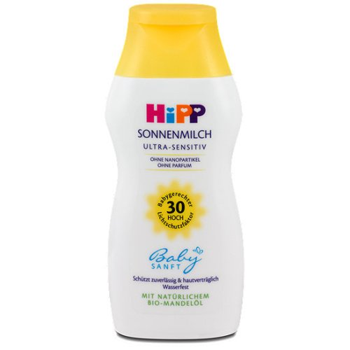 Hipp Baby Sun Milk Cream Ultra-Sensitive Hp30