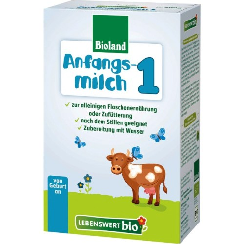 Lebenswert bio formula stage 1 is suitable from birth onwa