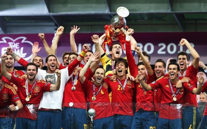 España Campeón Eurocopa 2012