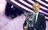 Andrés Iniesta UEFA Best Player 2012