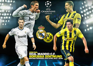 Real Madrid Borussia Dortmund 2013