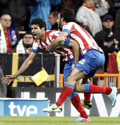 festejos atletico madrid campeon copa rey 2012-2013