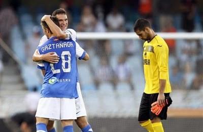 Real Sociedad 2-Getafe 0-