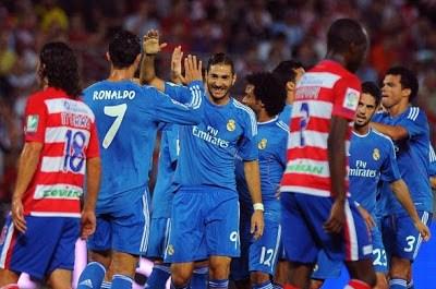 Granada vs. Real Madrid 2013