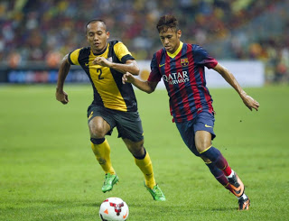 Neymar malasia barcelona