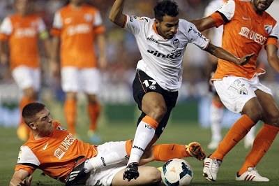 Valencia 1-Málaga 0 liga española