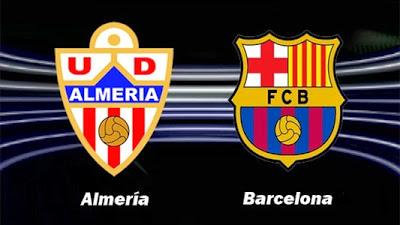 Almería vs. Barcelona 2013