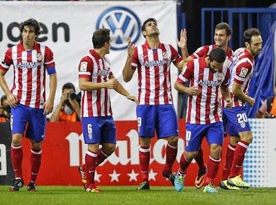 Atlético Madrid vs. Osasuna 2013