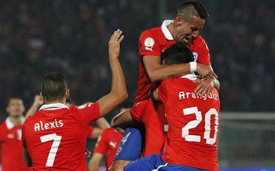 Chile vs Venezuela 2013