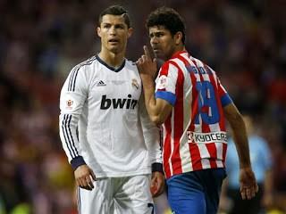 Ronaldo y Diego Costa