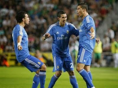 Elche vs. Real madrid 2013