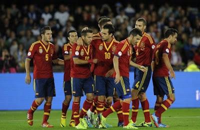 Finlandia vs. España 2013