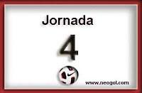 partidos jornada 4 liga española 2013