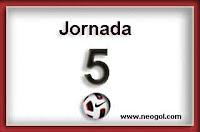 jornada 5 liga española bbva 2013-2014