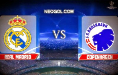 Real Madrid-Copenhague-Champions League