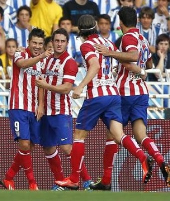 Real Sociedad vs. Atlético Madrid 2013
