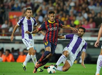 Barcelona vs. Valladolid 2013