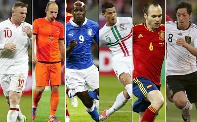 eliminatoria europea brasil 2014