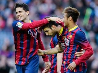 Barcelona vs. Granada 2013