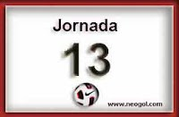 Jornada 13 Liga Española 2013-2014 liga bbva