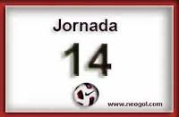 Partidos Jornada 14 Liga Española 2013