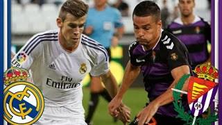 jornada 15 liga española real madrid real valladolid