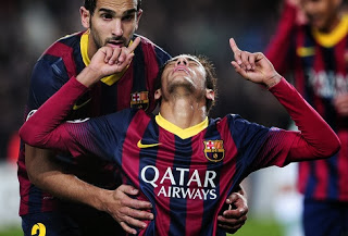 Barcelona vs Celtic Champions League neymar