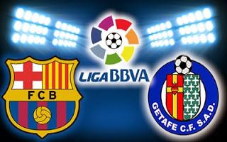 Barcelona vs. Getafe 2014