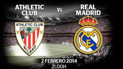 Athletic Bilbao vs. Real Madrid 2014