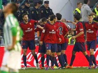 Osasuna vs. Betis 2014