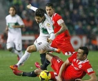 Elche vs. Sevilla 2014