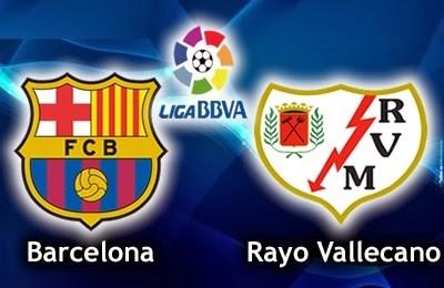 Barcelona vs. Rayo Vallecano liga española